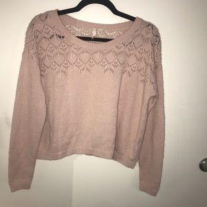 🌸BOGO FREE🌸 Open Knit Pink Sweater | Nordstrom